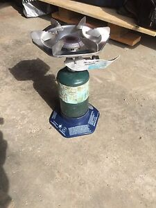 Camping stove and Water containers