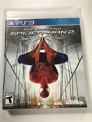 The Amazing Spider-Man 2 PS3 (Sony PlayStation 3, 2012) No Manual-NO SCRATCHES