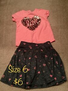 Girls dresses and rompers Size S/M (6-7,8)