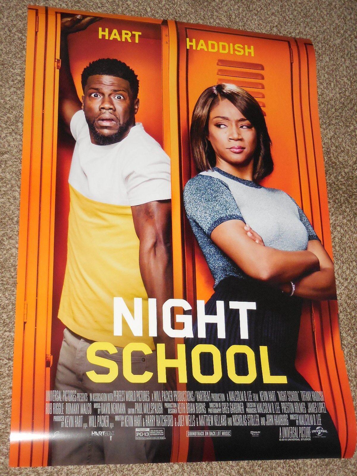 Details About Night School B Vg 27x40 Original D S Movie Poster
