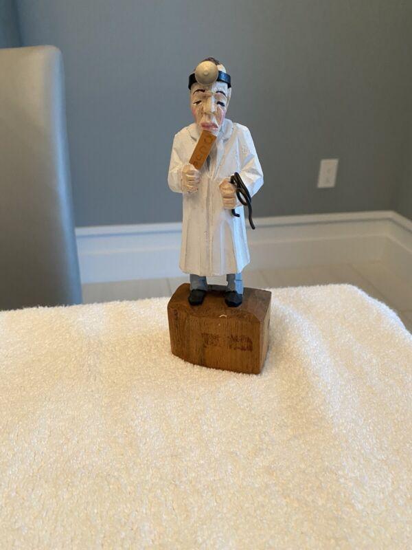 Optometry Figurine wood