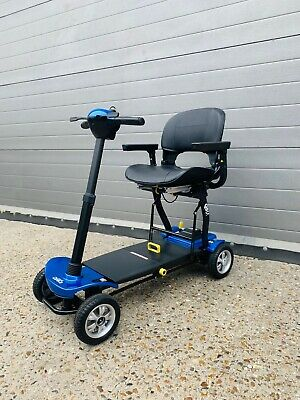 CareCo QS4 Electric Lithium Auto Folding Portable Mobility Scooter 4mph Car Boot