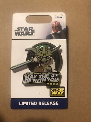 LIMITED EDITION Disney Star Wars May The 4th Be With You Yoda Pin 2020