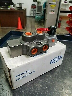 Cross Mfg. Sd4bgbb3 - 40 Gpm Double Selector Free Freight