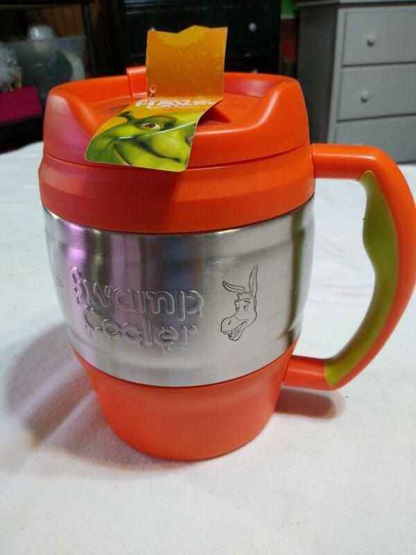 Shrek 2 Movie Orange Swamp Cooler 52oz Insulated Tumbler Bubba Keg Mug New