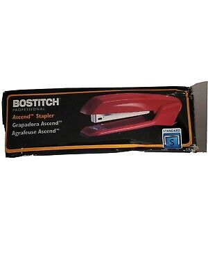 Bostitch Office B210r-red Bostitch Ascend 3 In 1 Stapler With Integrated Remover