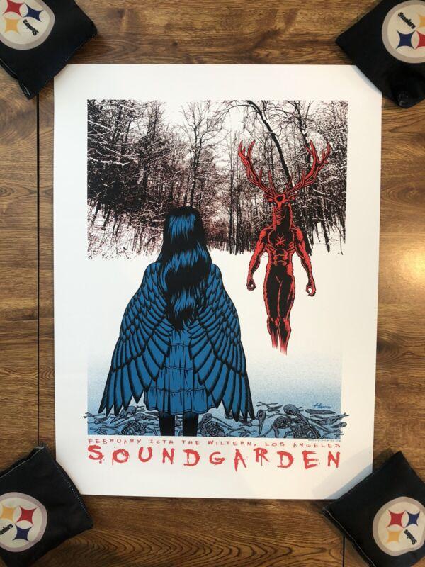 Soundgarden Concert Poster Hampton
