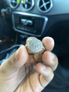 Oyster Diamond Ring