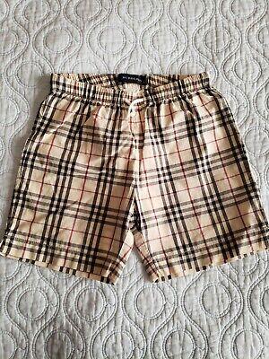 Burberry Baby Boy Shorts Sz 2 Y