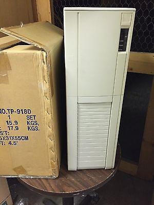 New AT Tower Computer Case Enclosure + Door Build Vintage PC IBM 486 386 Pentium