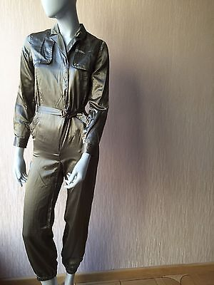 New $1975 Gucci Women's Jumpsuit Color Gold Size 12 It ( S-M US ) Italy