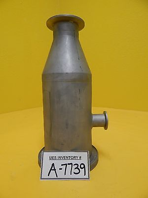 Edwards High Vacuum Reducer Tee Iso100 Iso-k To Nw50 Used Working