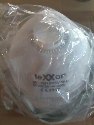 12 X FFP2 Schutzmaske mit Ventil Maske Mundschutz Körbchenmaske frische Ware