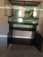 Exo Terra Tank and Cabinet large Tank