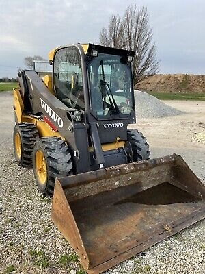 2013 Volvo Mc115c Skid Steer Loader - Bobcat - 475 Hours Air Conditioning