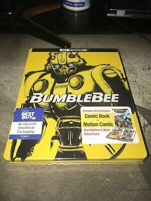 BumbleBee & Transformers The Last Knight Best Buy Exclusive 4K Blu-Ray Steelbook