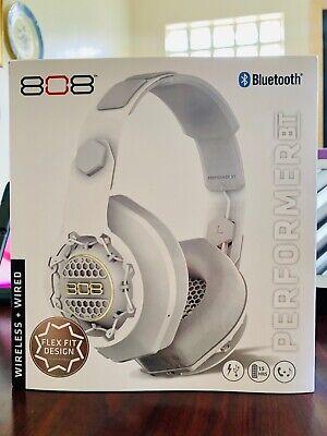 NEW ! / 808 Wireless + Wired : Bluetooth Headphones / PERFORMER : BT : FLEX FIT