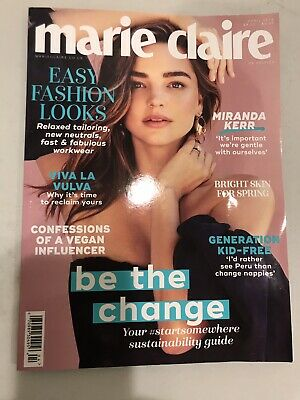 Marie Claire UK Edition April 2019 Miranda Kerr