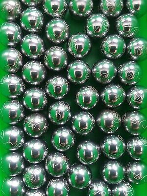 100pcs ENGRAVED Pachinko Balls- ALL Engraved- Made in Japan.