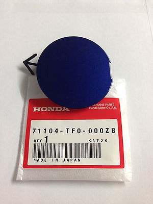 GENUINE HONDA JAZZ FRONT TOW EYE COVER 2009 2011 ALL COLOURS AVAILABLE