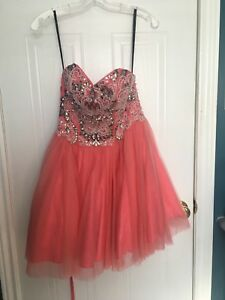 Size 2 Short Pink graduation dress