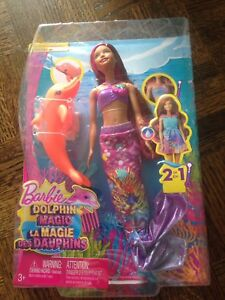 Brand New - Barbie Dolphin Magic