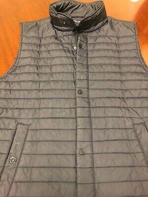 Men's Nautica Black Quilted Puffy Vest - Size XXl