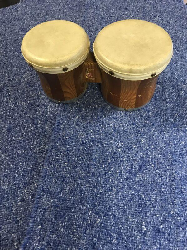 """Bongo Drums Used 5"""" & 5.5"""" diameters, 5.5"""" tall"""