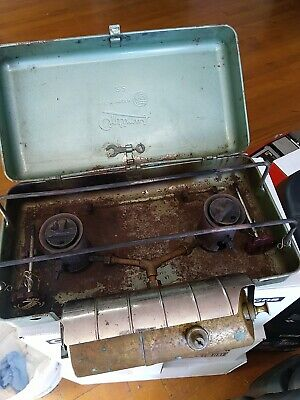 Optimus 22 two burner rare early classic camp stove for sale  Shipping to Nigeria