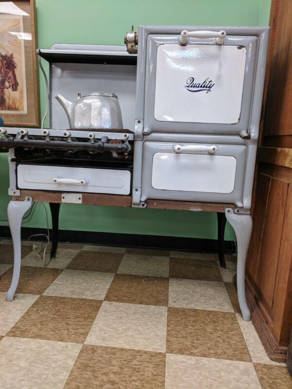 Antique Gas Stove Quality Mfg Hatboro Pa