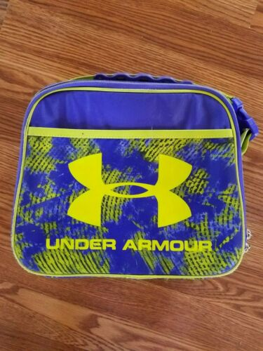 Under Armour Purple Neon Yellow Used Lunchbox