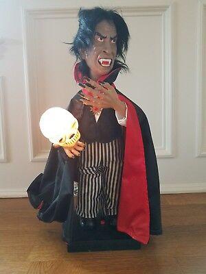 Halloween Motionette (Vintage Halloween Glow-Head DRACULA TELCO Motionette 24