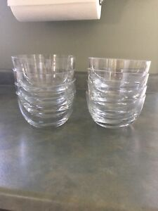 Set of 8 Glass Bowls