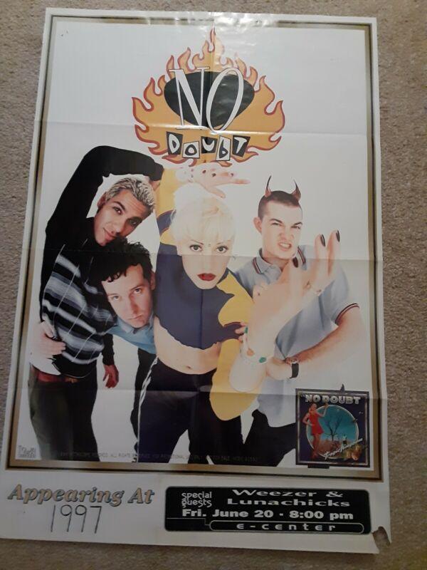 No Doubt Concert Poster RARE