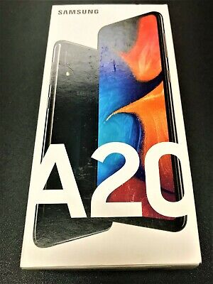 SAMSUNG A20 32GB BLACK **Fully/Permanently UNLOCKED**