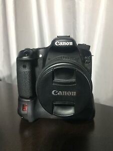 Canon 70D with battery grip and kit lens Toorloo Arm East Gippsland Preview