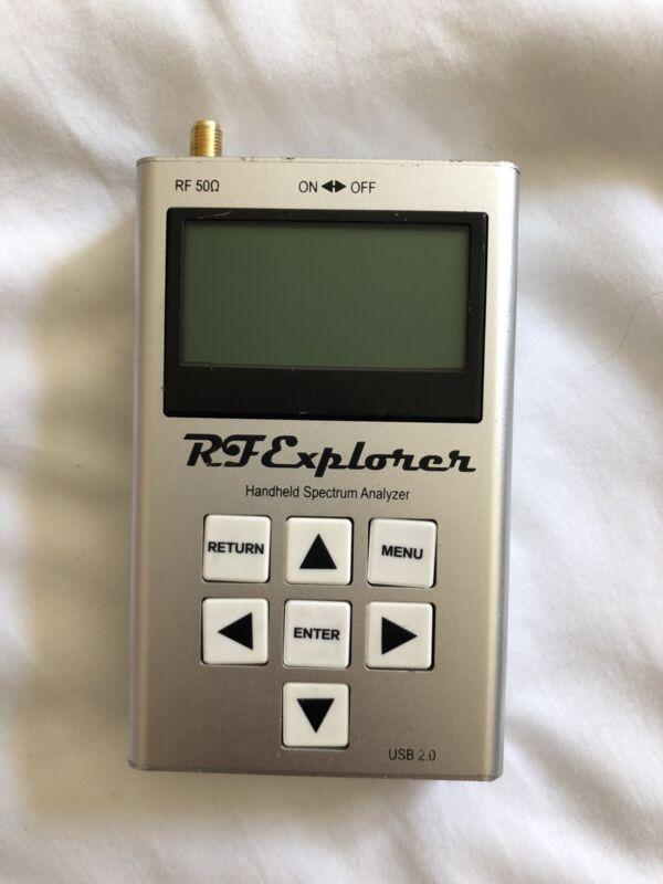 RF Explorer Handheld Spectrum Analyzer Used
