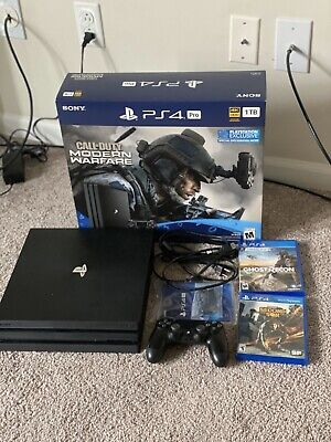 Sony Playstation 4 Pro 1TB Ps4 * Perfect Condition*