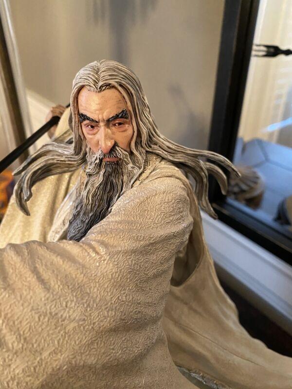 Weta Workshop The Hobbit Saruman the White at Dol Guldur Statue