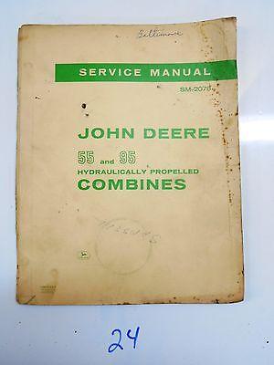 John Deere Service Manual 55 95 Combines Sm-2078  166
