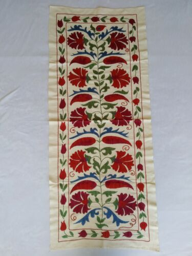 Suzani Vintge Best Gift Uzbek Wall Hanging Hand Embroidery SALE WAS $219.00