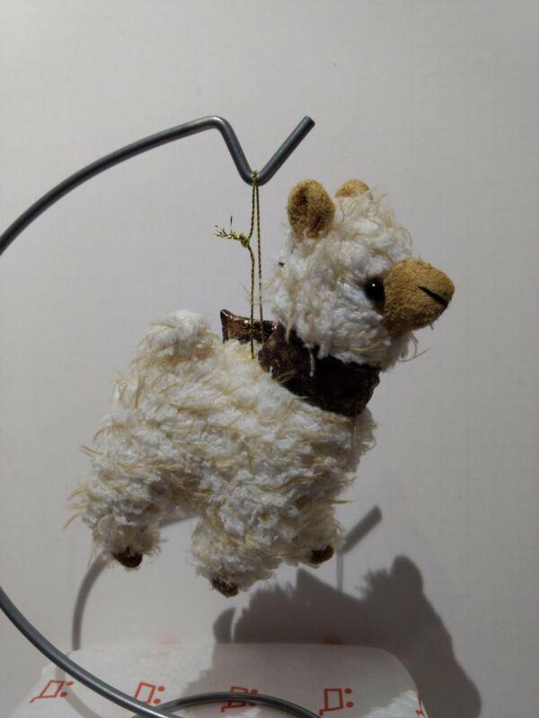 Fabric Ornament - Alpaca White