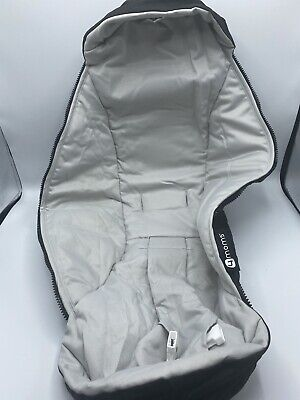 (FOR PARTS) 4Moms - mamaRoo 4 Infant Swing Light gray Seat Cover Replacement