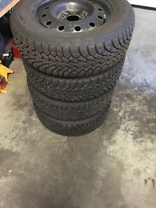 225/60R16 winter studded tires