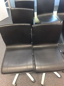 Black chairs x 10 Macquarie Park Ryde Area Preview