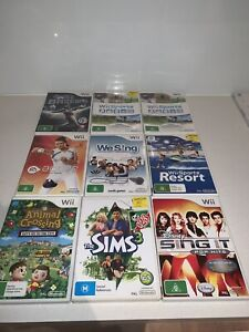 Nintendo Wii Games - Each for $10