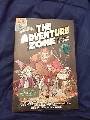 The Adventure Zone: Here There Be Gerblins Comic Book (Barnes & Nobles Edition)