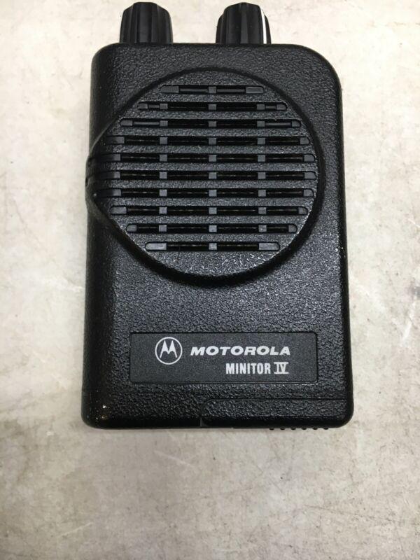 Motorola Minitor 4, Minitor IV,  Vhf Pager No Charger