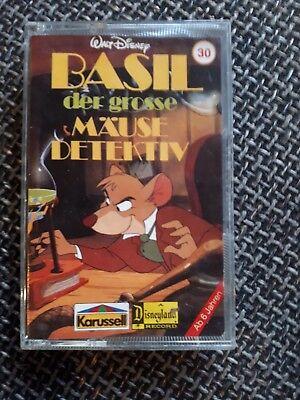 Hörspielkassette von Walt Disney Basil der große Mäusedetektiv - Karussell