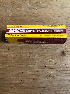 1x SIMICHROME POLISH Politur 50 gr Paste Happich Produkt Nr. 390050